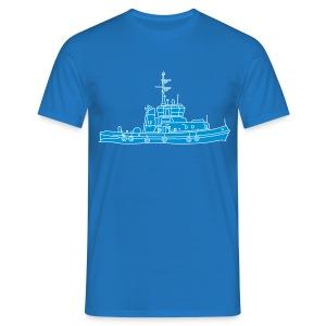 Schlepper Schleppschiff 2 - Männer T-Shirt