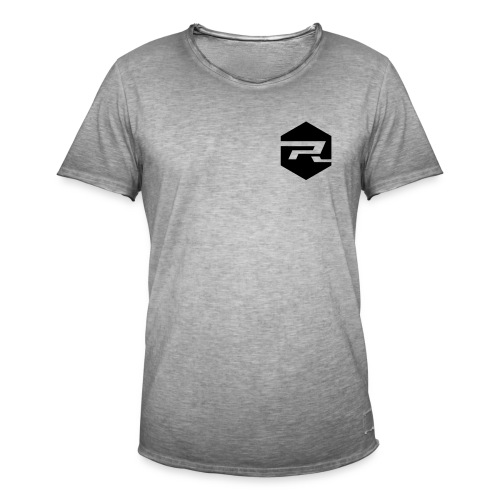ProRider Vintage T-Shirt Classic - Druck Schwarz - Männer Vintage T-Shirt