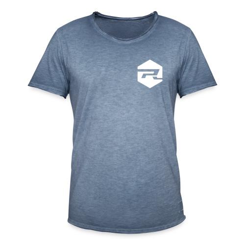 ProRider Vintage T-Shirt Classic - Druck Weiß - Männer Vintage T-Shirt