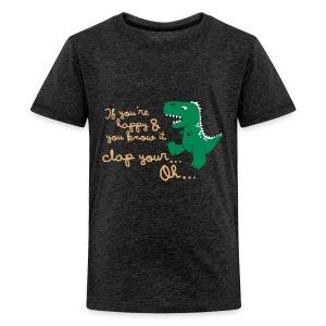 Dino Problem - Teenager Premium T-shirt