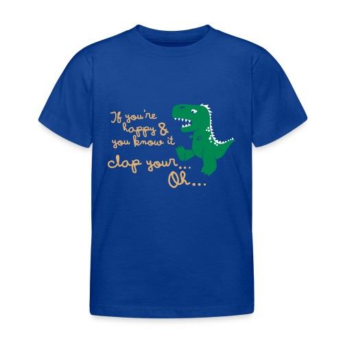 Dino Problem - Kinderen T-shirt