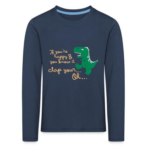 Dino Problem - Kinderen Premium shirt met lange mouwen