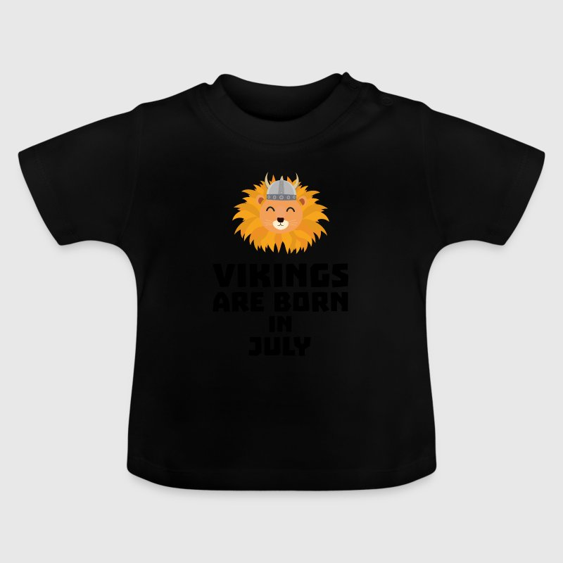 Vikings are born in July S0gcf Baby Shirts  - Baby T-Shirt
