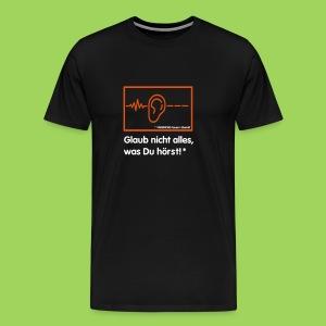 Fakenews - Männer Premium T-Shirt