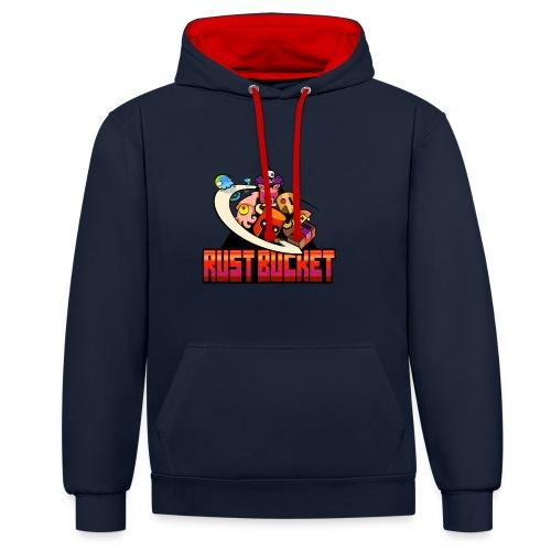 Rustbucket - Contrast Colour Hoodie