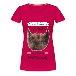 Bart Einstellung - Damen Premium T-Shirt - Frauen Premium T-Shirt