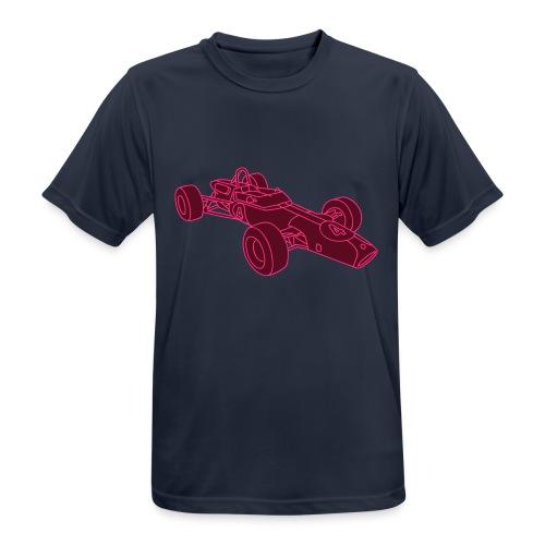 Rennwagen 2 - Männer T-Shirt atmungsaktiv