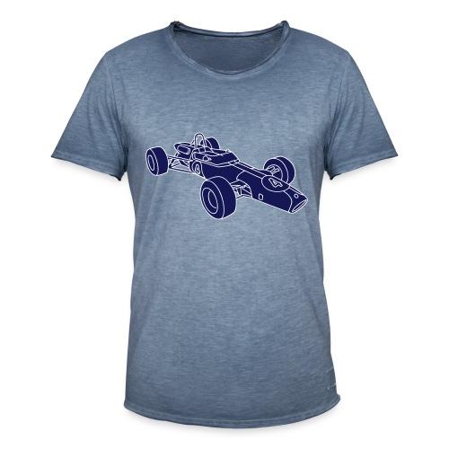 Rennwagen 2 - Männer Vintage T-Shirt