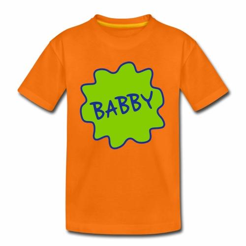 Babby, Manchester Dialect Children's T-Shirt - Kids' Premium T-Shirt