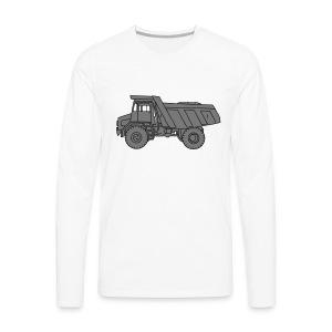 Muldenkipper Kipplaster 2 - Männer Premium Langarmshirt
