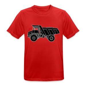 Muldenkipper Kipplaster 2 - Männer T-Shirt atmungsaktiv