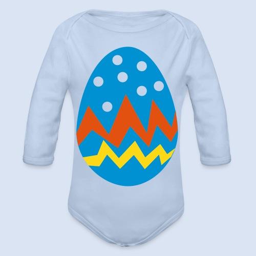 FROHE OSTERN - Kinder Shirts Babysachen - Baby Bio-Langarm-Body