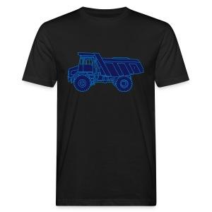 Muldenkipper Kipplaster 2 - Männer Bio-T-Shirt