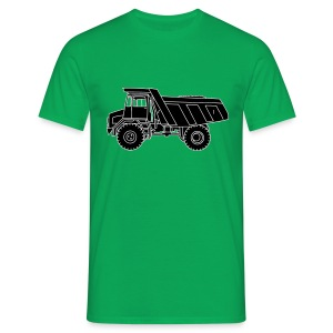 Muldenkipper Kipplaster 2 - Männer T-Shirt