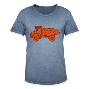 Muldenkipper Kipplaster 2 - Männer Vintage T-Shirt