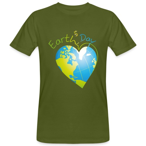 T-shirt Earth Day - T-shirt bio Homme