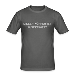 Ausdefiniert Slim Fit T-Shirt - Männer Slim Fit T-Shirt
