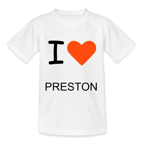 I HEART PRESTON - Teenage T-Shirt