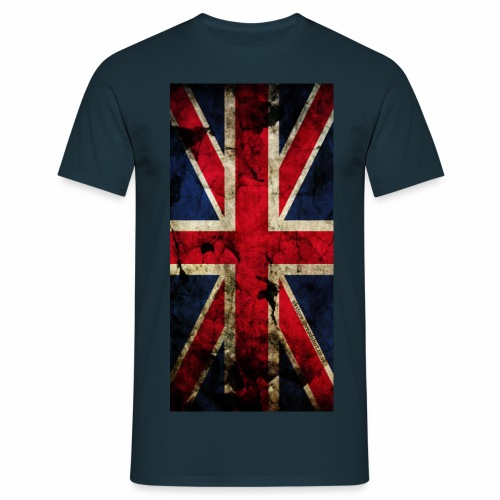 UK Vintage Flagge - Männer T-Shirt