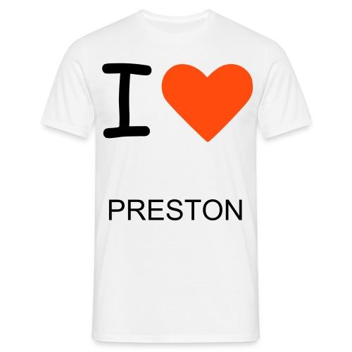 I HEART PRESTON - Men's T-Shirt