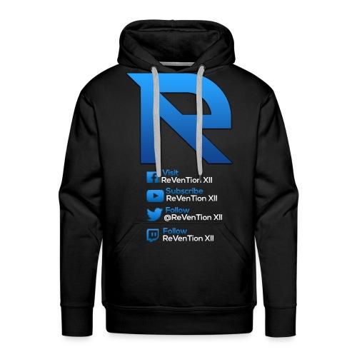 ReVenTion XII Branded Hoodie - Men's Premium Hoodie