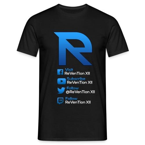 ReVenTion XII Branded Mens TShirt - Men's T-Shirt