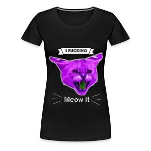 Meow Cat - Damen Premium T-Shirt - Frauen Premium T-Shirt