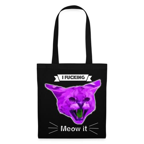Meow Cat - Tragetasche - Stoffbeutel