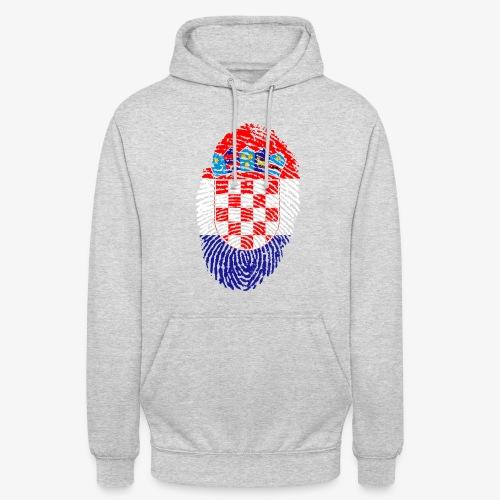 Hoodie Fingerprint Hrvatska - Unisex Hoodie