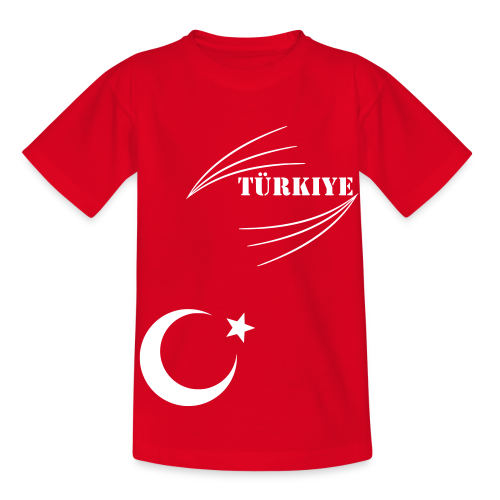 Türkiye Benim Türkiyem Memleketim T-Shirts - Kinder T-Shirt