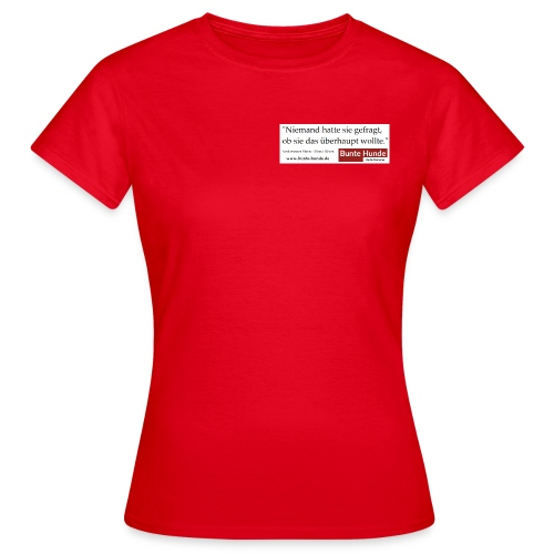 T-Shirt Damen   Mona Silver - Frauen T-Shirt