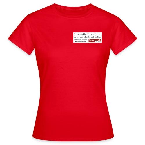 T-Shirt Damen | Mona Silver - Frauen T-Shirt