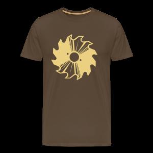 Kreissägenblatt Shirt - Männer Premium T-Shirt