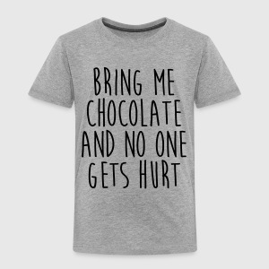 Bring Me Chocolate Funny Quote Tee shirts - T-shirt Premium Enfant