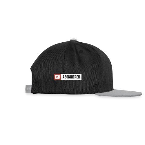 abonnieren  cap - Snapback Cap