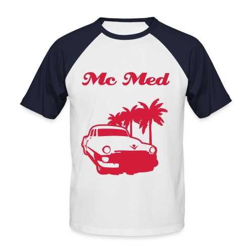 Mc Med - T-shirt baseball manches courtes Homme