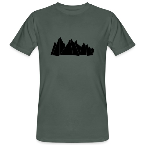 T-Shirt MOUNTAINS - Männer Bio-T-Shirt