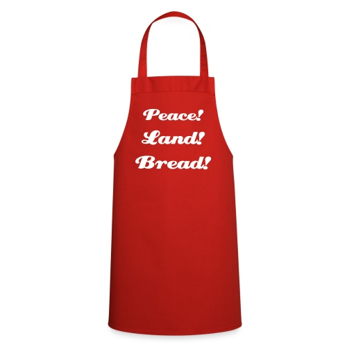 Lenin's Demands Apron - Cooking Apron