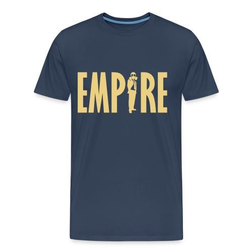THE EMPiRE (Navy) - Men's Premium T-Shirt
