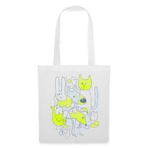 Tote Bag - Abstract print - Tote Bag