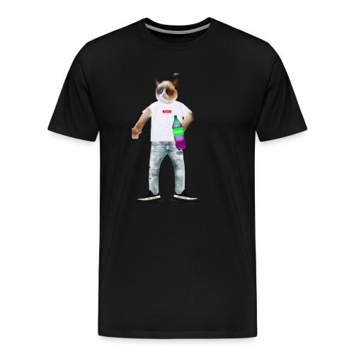T-Shirt Fuccboi Cat - T-shirt Premium Homme