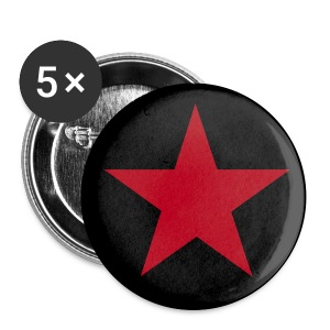 Red star - Spilla grande 56 mm