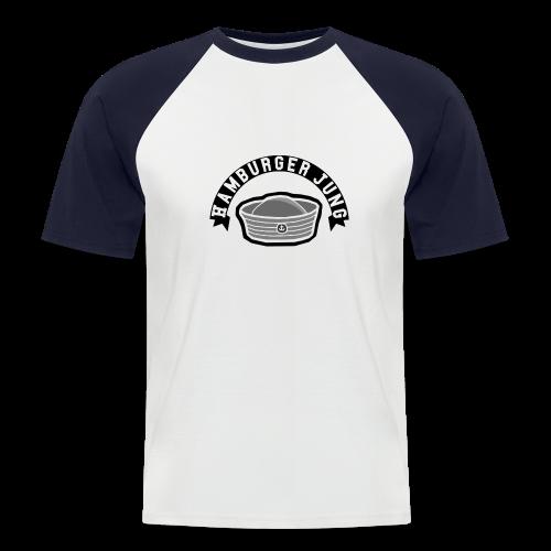 Hamburger Jung Baseball-Shirt - Männer Baseball-T-Shirt