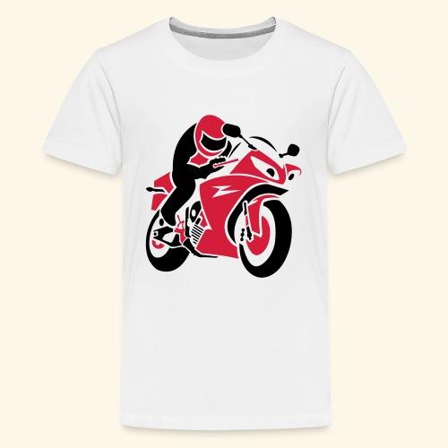 Moto b  2c-Niño y Niña 9 a 12 años - Camiseta premium adolescente