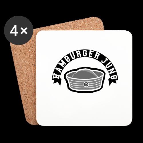 Hamburger Jung Korkuntersetzer - Untersetzer (4er-Set)