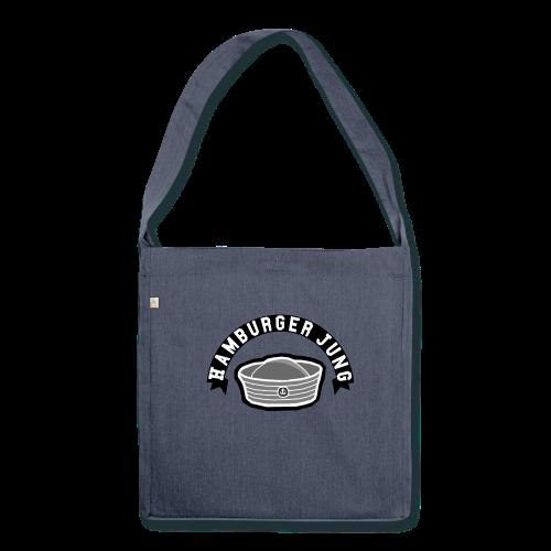 Hamburger Jung Recycling-Schultertasche - Schultertasche aus Recycling-Material