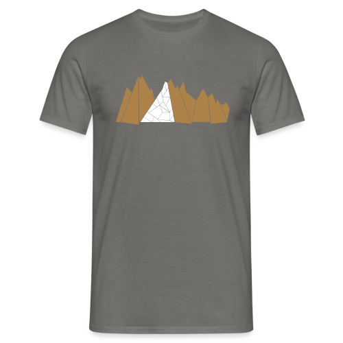 T-Shirt Mountains - Männer T-Shirt