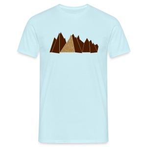 Bergkulisse rot