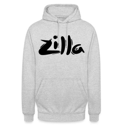 Grey 'Zilla' Hoodie - Unisex Hoodie