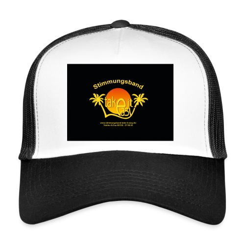 Cap mit Take it easy Logo - Trucker Cap